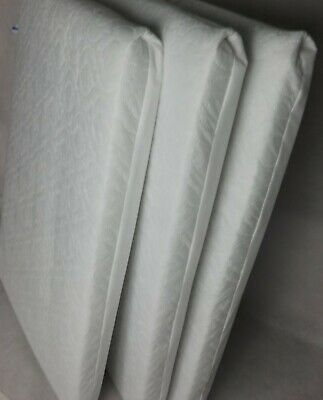 EXTRA THICK Travel Cot Mattress 95 x 65 x 10 CM QUILTED Breathable - UK Made 2