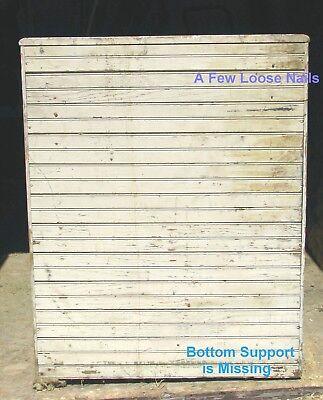 Antique Wooden Ice box 8