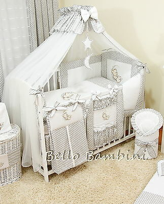 LUXURY CANOPY DRAPE & Holder - 320 x 175cm for BABY Cot/Cot Bed