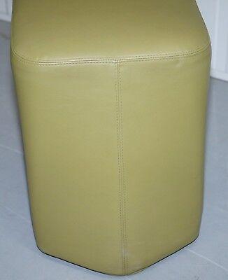 Six Cool Rrp £5280 Boss Design Hoot Leather Stools Modular Contemporary Design 6 9