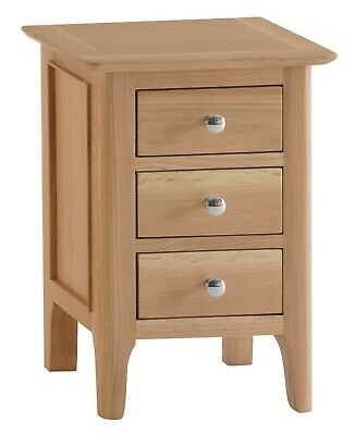 Pair Of Oak Bedside Cabinets Small