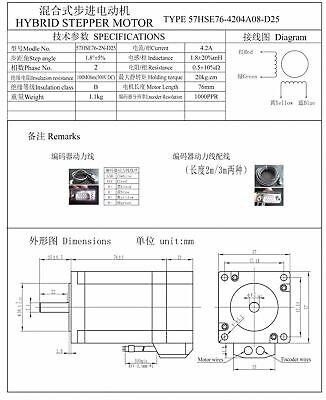 2x 2Phase 2NM Closed Loop Stepper Motor NEMA23 Drive Hybrid Servo Driver CNC【UK】 12