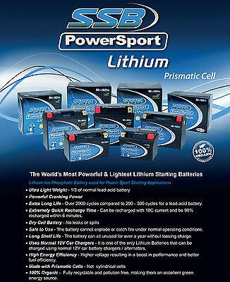Ssb 12V Lh5L-Bs Lithium Motorcycle Battery Ytx5L-Bs Ytx5Lbs Ytz7-S Ytz7S Lh5Lbs