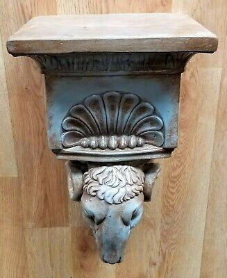 Ram Head Regency Plaster Wall Bracket Corbel Shelf 6