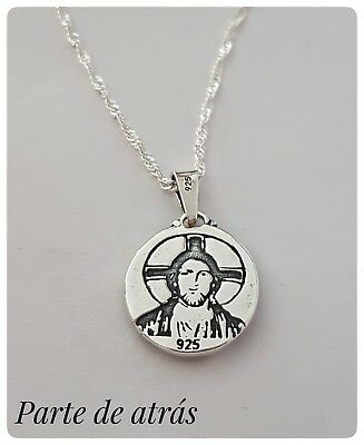 d6b08b75ccfd SAN JUDAS TADEO Silver Plata San Judas Tadeo Medalla Colgante - EUR ...