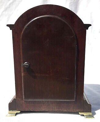 Antique W&H Winterhalder Hofmeier Bracket Mantel Clock Robert Jones Liverpool 5