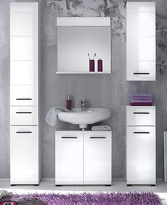 bad hochschrank weiss hochglanz badezimmer schrank badschrank 2 t rig m bel skin eur 139 99. Black Bedroom Furniture Sets. Home Design Ideas