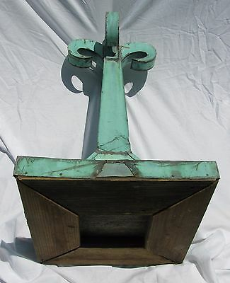 Antique Copper Flordali Finial 7