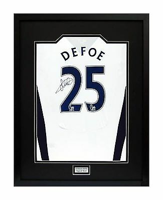 Frame For Your Signed Football/ Rugby Shirt + Free Engraved Plaque+Shirt Insert 3