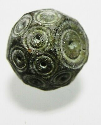 Zurqieh -As12697- Byzantine / Early Islamic Bronze Weight. 600 - 800 A.d. 3