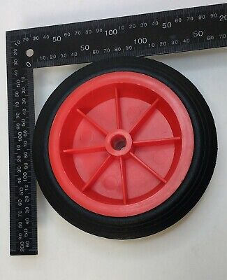 Replacement Jockey Wheel Red Plastic Fits Mp431/432 160Mm Genuine Maypole Mp430 7