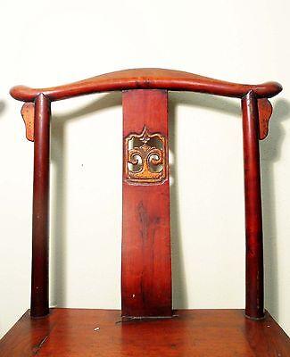 Antique Chinese High Back Chairs (5473) (Pair), Circa 1800-1849 8