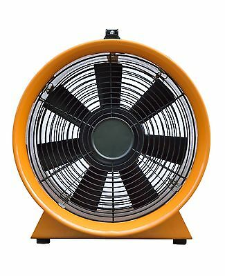 """Dust Fume Extractor/Ventilation Fan 10"""" (250Mm) Next Day Delivery 3"""
