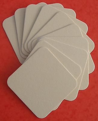 20 Blank Coasters for Art and Craft -Round and Square (PLEASE READ DESCRIPTION) 3