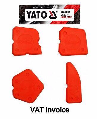 Yato Silicone Sealant Spreader Profile Applicator Tile Fugi Grout Tool