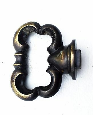 French Provincial Brass antique hardware Vintage drawer pull cabinet knob 2