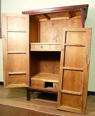 """Antique Chinese Ming """"MianTiao"""" Cabinet (5021), Circa 1800-1849 2"""