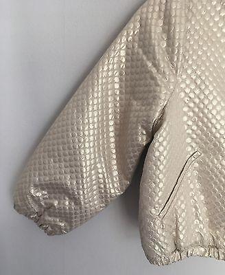 No Added Sugar Girls Amazing Gold Bomber Jacket Size 2-3 Years BNWT 4