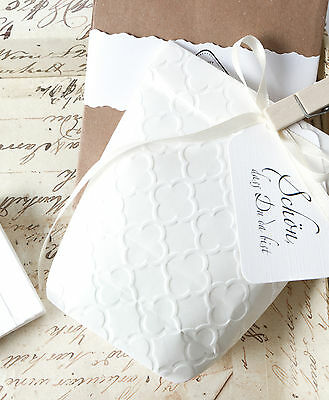 10 Geschenktüten mit PALAST Prägung Papiertüten Kraftpapier Tüten 11x17,5 cm 3