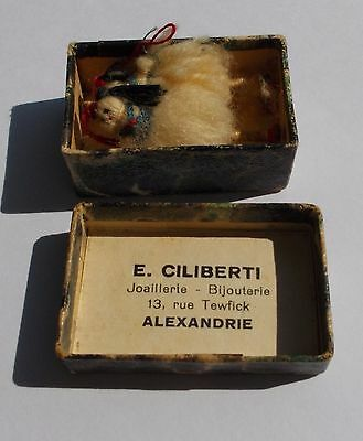 Vintage 19 century matchbox Greek tsoliades from Alexandria 5