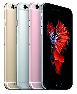 Apple iPhone 6S Unlocked 16GB 64GB 128GB Space Grey Rose Gold Silver Warranty 3
