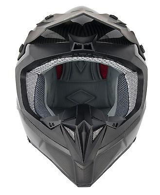 NEW STEALTH HD210 FULL CARBON FIBRE MOTOCROSS MX OFF ROAD ENDURO HELMET