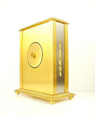 Clock Lavigne Pendulum Napoleon III Bronze H:24 cm 5,5 kg Wide Clock c1980 3