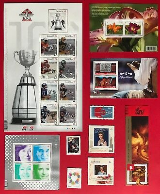 Canada 2012 Postage Stamps - Complete Year Annual Collection Stamp - Free Ship 4