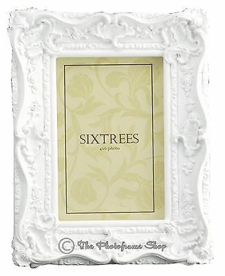 Ornate Vintage Antique Shabby & Chic Photo Frame 4 Colours  4x4 6x4 7x5 8x6 10x8 7