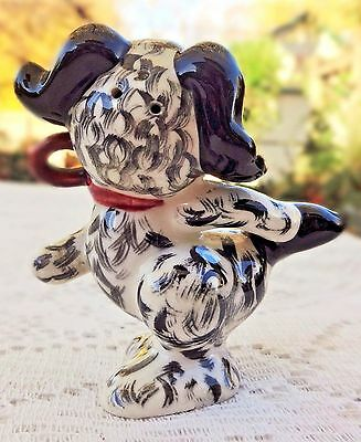 Vintage Ceramic Anthropomorphic Dog - *single Shaker* - Made In Japan