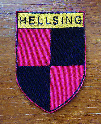 Hellsing embroidered patch for cosplay based on the anime  manga Ultimate