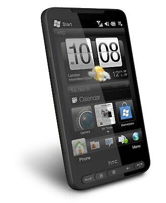 HTC HD2 Leo - Black (Unlocked) GSM 3G WiFi Windows Mobile Touch Smartphone 3