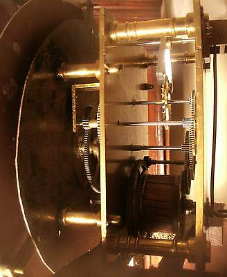 "Antique Mahogany ""Blackpool"" Month Regulator   Longcase / Grandfather Clock 2"