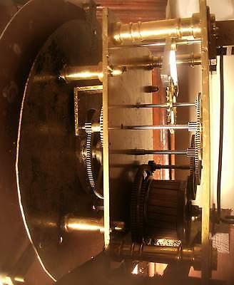 "Antique Mahogany "" Month Regulator""  Blackpool   Longcase / Grandfather Clock 4"