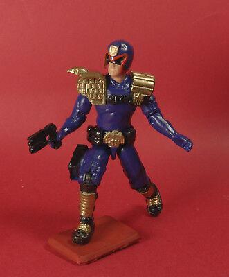 """Gi joe Judge Dredd 1995 Version Custom  4/"""" Sylvester Stallone blister"""
