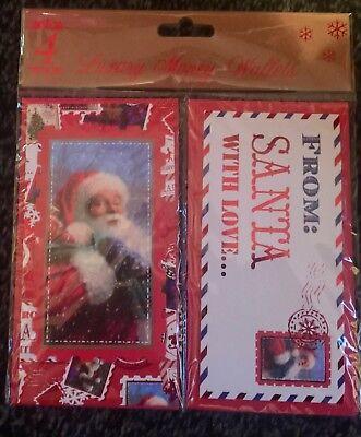 Packs Christmas Money Wallets Gift Voucher Presents Self Sealing 1,4, 6 EASTER 10