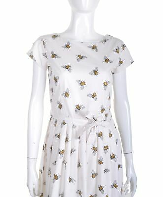 Run and Fly Bumble Bee Print Jersey T Shirt Dress 8 10 12 14 16