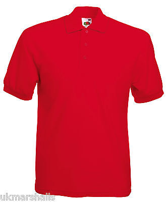Bulk Buyer Fruit Of The Loom Polo T Shirt 14 Colours All Sizes Bn 10