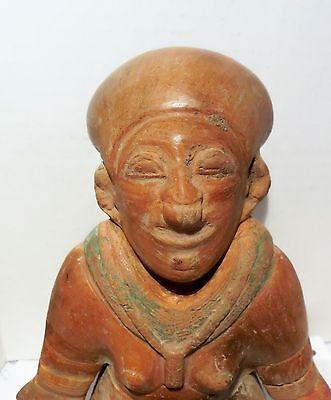 Pre Columbian Ecuador Female Fragment Authentic Jama - Coaque Pottery 4