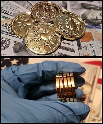John Wick The Continental Hotel Gold Coin Lot Challenge Coins Solid Brass Reeves 7