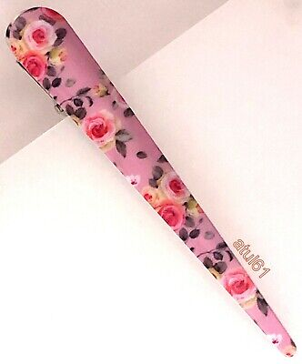 Ladies Long Metal Floral Beak Clips Concord Grips Crocodile Strong Hair Clip NEW