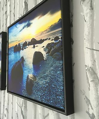 Personalised Photo on Canvas Print Framed A0 A1 A2 A3 A4 A5 Ready to Hang 3