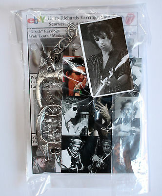 Keith Richards Style Handcuff Bracelet - Keef Rolling Stones Jewellery Accessory 6
