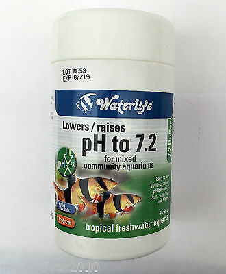 Waterlife Buffer pH to 7.2 for mixed community aquariums Tropical Aquariums