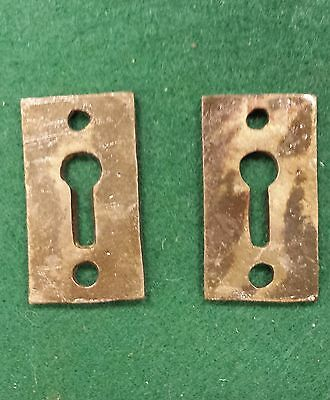 DECOCRATIVE VICTORIAN STYLE KEY HOLE COVERS  CAST IRON  up to 12 available 2