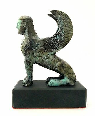 Ancient Greek Bronze Museum Statue Replica Of Minoan Griffon (1699) 2