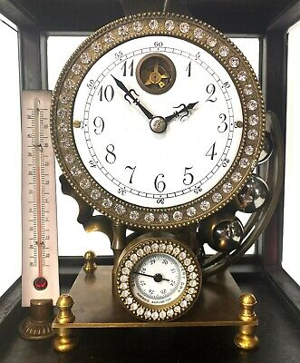 Mystery Ferris Wheel Gravity Weight Driven Regulator Clock - Never Wind It!! 7
