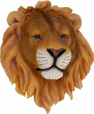 Large Wall Mount Hang Animal Head Ornament Decoration Realistic Display Resin 5