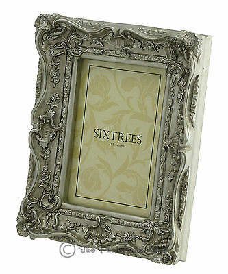 Ornate Vintage Antique Shabby & Chic Photo Frame 4 Colours  4x4 6x4 7x5 8x6 10x8 4