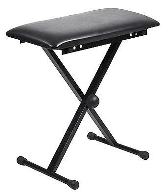 NJS 61 Key Full Size Electronic Keyboard, Sheet Music Stand, Headphones, Stool 8